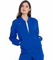 Dickies Balance Women's Zip Front Scrub Jacket-DK365