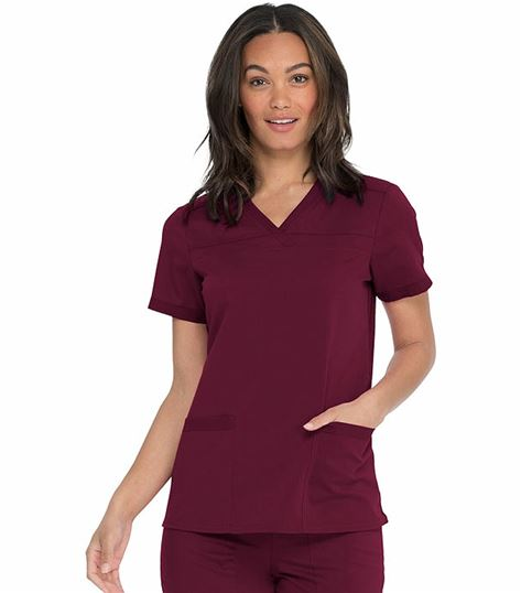 Dickies Balance Women's V-Neck Scrub Top-DK870