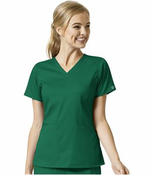 WonderWink Pro Women's 4 Pocket V-Neck Scrub Top-6319