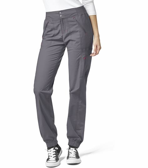 WonderWink WonderFLEX Women's Snap Closure Jogger Scrub Pants-5908