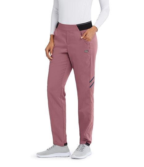 Grey's Anatomy Impact Women's 4 Pocket Elastic Waist Scrub Pants-GIP504