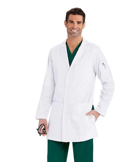 Barco One Men's 36 Inch 4 Pocket Lab Coat LBC907