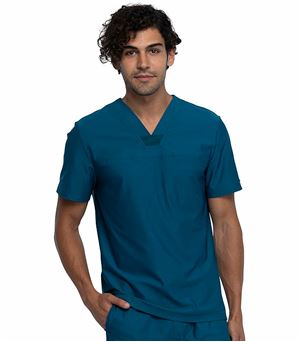 Cherokee Form Men's V-neck Scrub Top CK885