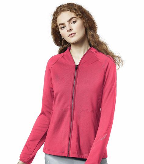 WonderWink Women's Fleece Warm-Up Scrub Jacket-8209