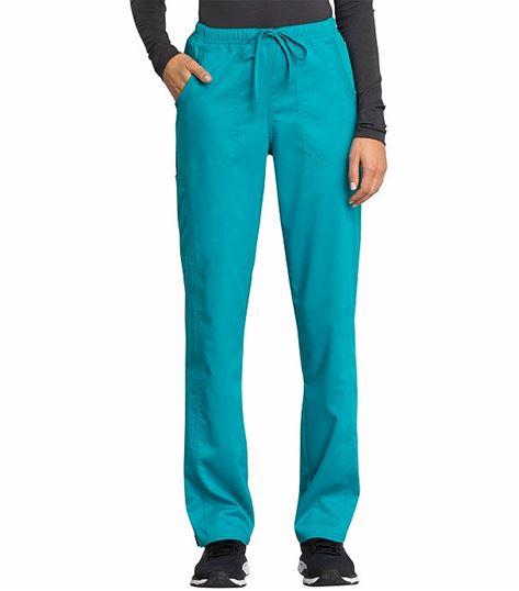 Cherokee Workwear Revolution Tech Women's Drawstring Scrub Pants-WW235AB