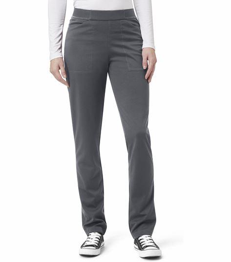 WonderWink Aero Ponte Knit Straight Leg Pant 5919