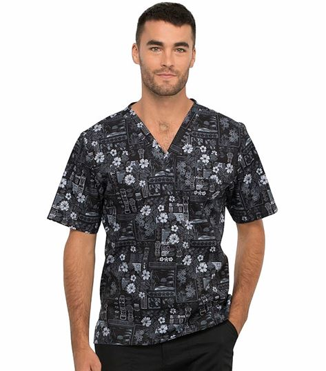 Cherokee Men's V-neck Top CK675