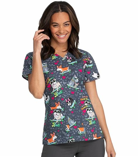 Dickies Everyday Scrubs V-neck Top DK617