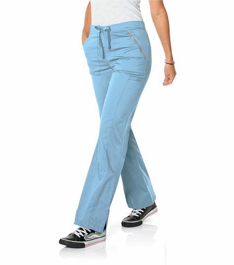 Smitten Women's Straight Flare Leg Scrub Pants-S207002