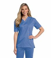 All Day by Landau All-Day Unisex V-Neck Scrub Top 4139