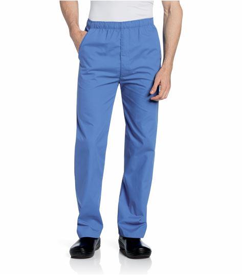 Landau Men's Elastic Waist Scrub Pants-8550
