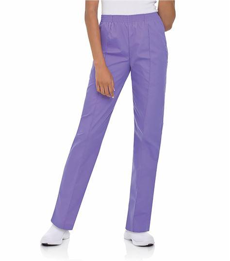 Landau Women's Classic Fit Tapered Leg Scrub Pants-8320