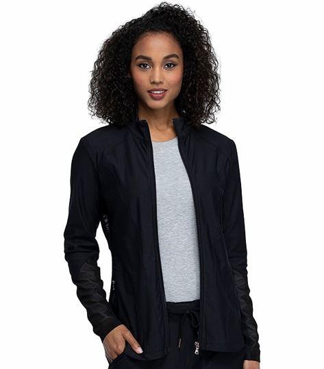 Cherokee Form Women's  Zip Front Scrub Jacket CK390