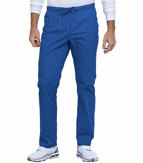 Cherokee Workwear Professionals Unisex Straight Leg Drawstring Scrub Pants-WW030