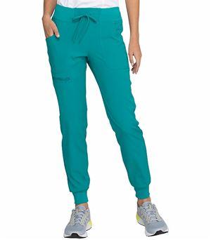 HeartSoul Women's Elastic Waist Drawstring Jogger Scrub Pants-HS030