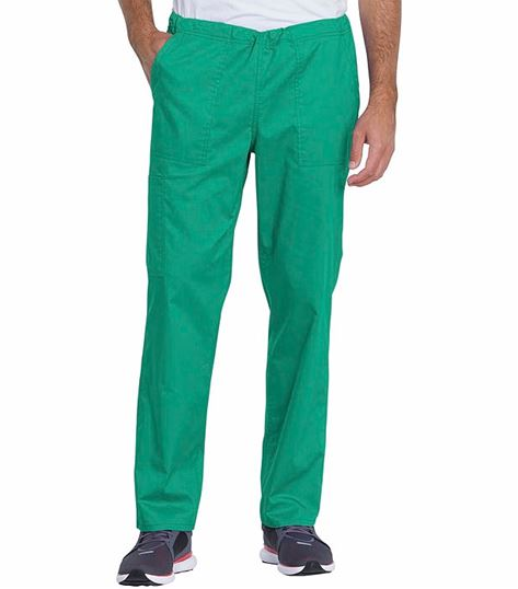 Genuine Dickies Unisex Mid Rise Straight Leg Scrub Pants-GD120