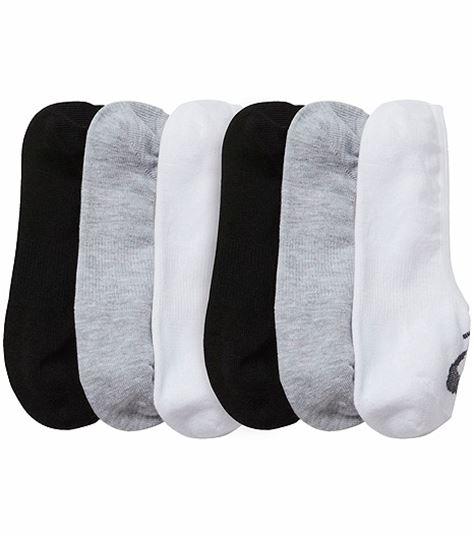 Asics 6pr Pack Asics Invisible Sock ZK3517W