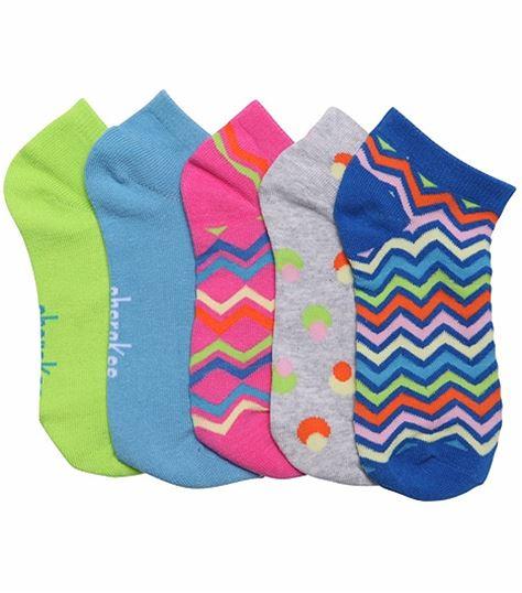 Cherokee 6-5pr Packs Of No Show Socks SPRINGFEVER