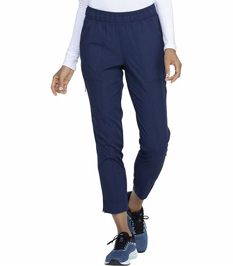 Elle Pull On Tapered Leg Ankle Scrub Pants-EL101