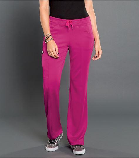 Smitten Women's Straight Leg Elastic Waist Scrub Pants-S201022