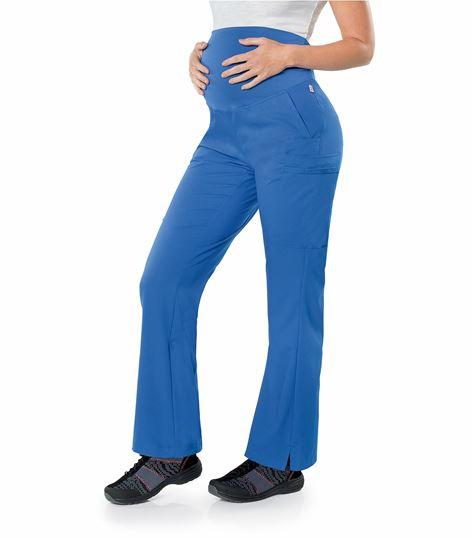 Urbane Ultimate Flare Leg Maternity Scrub Pants-9399