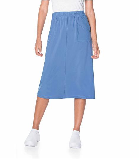 Landau Proflex Women's Modern Fit  A-Line Scrub Skirt- 2227