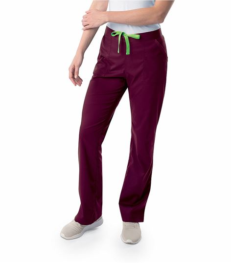 Landau Proflex Women's Drawstring Cargo Scrub Pants-2042