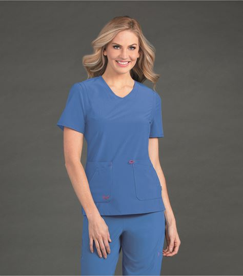 Smitten SMITTEN V NECK WITH FRONT SEAMING S101034