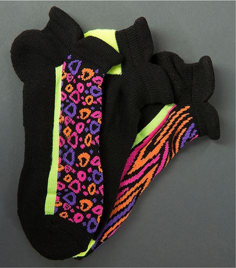 Smitten Set of 3 Pairs of Tab Top Socks S403004