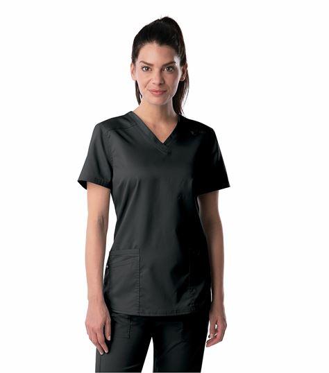 Landau Proflex Women's V-Neck Scrub Top-4160