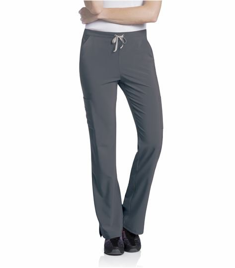 Urbane Performance Drawstring Cargo Yoga Scrub Pants-9312