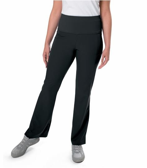 Urbane Woman's Ultimate Yoga Scrub Pant With PWRcor Waistband - 9337