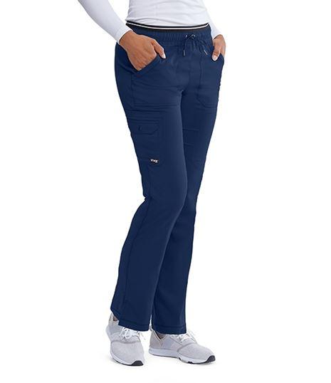 Grey's Anatomy Women's Cargo Scrub Pant-GRSP005