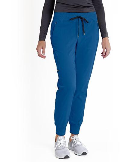Grey's Anatomy Women's Soft Rib Waist Jogger Pant-GRSP537