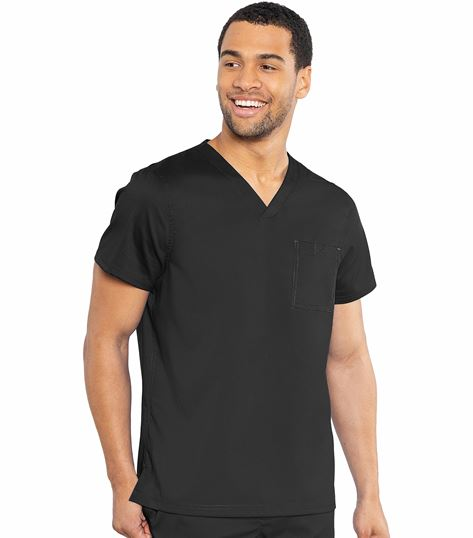 RothWear by Med Couture Men's Cadence One Pocket Top-7478