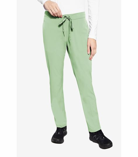 Med Couture Peaches Women's Flat Front Pant-8706