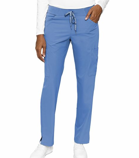 Med Couture Peaches Women's Scoop Pocket Pant-8733
