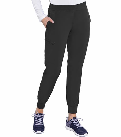 Med Couture Energy Women's Smocked Waist Jogger Scrub Pants-8739
