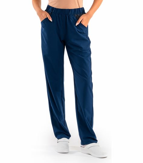 Worked In Women's Fashion Scrub Pants With Stylish Shimmer SD304B