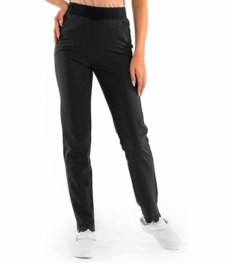 Worked In Women's Scallop Style Scrub Pants SP203B